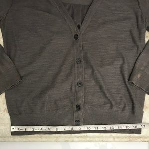 LOFT Sweaters - Ann Taylor LOFT Womens Med Ruched Cardigan Sweater